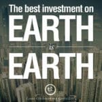 best investment is earth